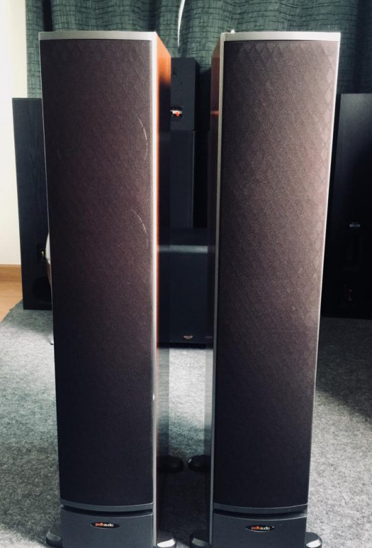 Polk Audio RTi8 Made in USA 2-Way Speakers